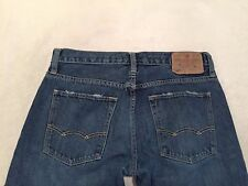 American Eagle Men's Low Rise Slim Straight Semi Distressed Jeans Size 29 x 30