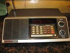 Vintage Electra Bearcat 20/20  BC-20/20  40 Channel Scanner. Aircraft/Marine/PS