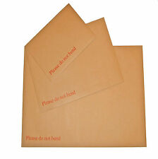 10 C5 A5 HARD CARD BOARD BACK BACKED DO NOT BEND ENVELOPES BROWN 229x162mm cheap