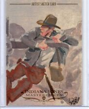 2008 TOPPS INDIANA JONES MASTERPIECES HARRISON FORD 1/1 SKETCH TED DASTICK CARD