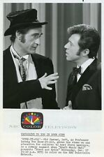 STEVE LAWRENCE SID CAESAR PROFILE PORTRAIT KRAFT MUSIC HALL 1970 NBC TV PHOTO