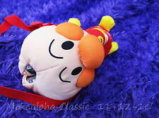 Japanese Anpanman Hero Face Bottle holder Zip Purse Bag Insulated Carrier