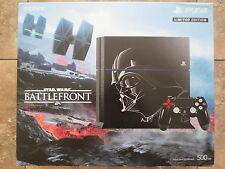 NEW Sony PlayStation 4 Star Wars Darth Vader Limited Edition Bundle PS4 Console