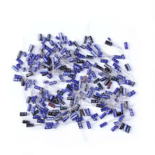210Pcs 25 Value 0.1uF~220uF Electrolytic Capacitors Assortment Kit Set