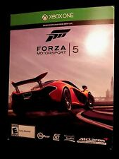 BRAND NEW SEALED XBOX ONE FORZA MOTORSPORT 5 DOWNLOAD CARD BUY IT NOW