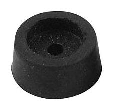 Fasteners & Hardware - Spacers & Feet - BUMBER RUBBER BLACK 12.7MM