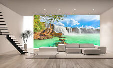 Dry Nur Waterfall Wall Mural Photo Wallpaper GIANT WALL DECOR PAPER POSTER