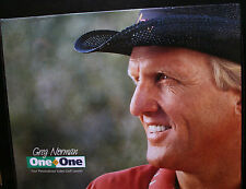 GREG NORMAN, ONE ON ONE, PERSONALIZED VIDIO GOLF LESSON, BASIC FUNDAMENTALS