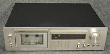 Vintage PIONEER Cassette Deck Player Recorder NEEDS REPAIR • Model CT-F555