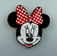 MICKEY MINNIE MOUSE DISNEY Embroidered Patch Iron Sew Logo Hardcore Emblem KIDS