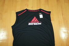 Ektelon TEAM SLEEVELESS SHIRT  DRY-FIT BLACK/RED/WHITE  SIZE MENS XXL