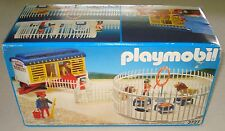Vintage Playmobil Romani Circus Lion Tamer & Wagon & Cage #3727 Complete in Box