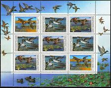 Russia 1990 Sc5908a  Mi6099-101  1 MS  mnh  Duck Conservation