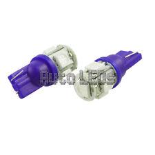 Blue 5 x 5050 LED T10 Wedge 12v Interior LED Bulb
