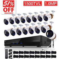 ELEC 16CH 960H HDMI DVR CCTV 1500TVL Home Security Camera System Video Recorder