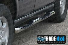 MERCEDES ML W163 SIDE STEPS RUNNING BOARDS BARS PANTHER STAINLESS STEEL 99-05