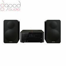 ONKYO CS-265 MINI HI-FI SYSTEM - BLACK - CD, NFC, BLUETOOTH, USB CONNECTIVITY