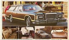 Ford LTD Wagon & Country Squire 1978 USA Market Postcard Format Mailer Brochure