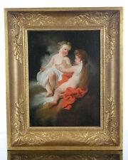 18th Century Cherubs - Fabulous Italian Old Master Oil Painting