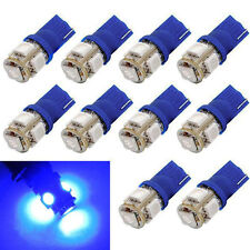 10pcs T10 Wedge 5-SMD 5050 Xenon Car LED Light Bulbs 192 168 194 W5W 2825 158