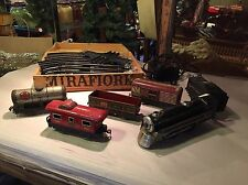 Vintage MAR Toy Train Set with Box for Tracks