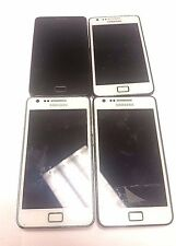 4 Lot Samsung Galaxy S II i9100 GSM For Parts Repair Used Wholesale As Is