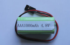 FUTABA TYPE 4.8 VOLT 1000MAH CAPACITY NIMH AAA SIZE SQUARE RECEIVER BATTERY NEW