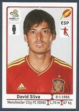 PANINI EURO 2012- #302-ESPANA-SPAIN-MANCHESTER CITY-DAVID SILVA