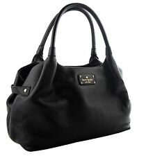 Kate Spade Berkshire Road Stevie Satchel Black Leather Shoulder bag NWT$398