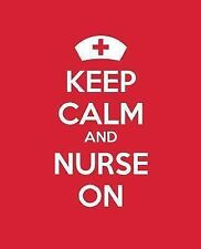 Keep Calm Journals: Keep Calm and Nurse On : A Journal/Diary/Notebook for...