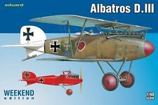 1:48 SCALE MODEL KIT Eduard  Albatros D.III Weekend Edition