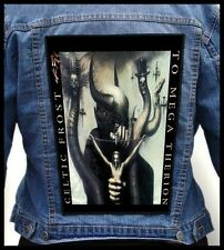 CELTIC FROST - To Mega Therion --- Giant Backpatch Back Patch