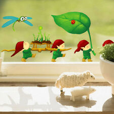1Pcs Cute Dragonfly Wall Decals Removable Nursery Kids Room Stickers SK
