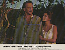 THE SAVAGE IS LOOSE GEORGE C. SCOTT TRISH VAN DEVERE INCEST DRAMA RARE 1974 8X10