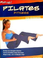 Pilates: DVD Fitness Beginners Exercise Lose Weight Tone Core Strength Rave! New