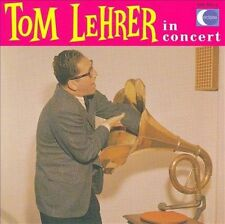 TOM LEHRER In Concert CD BRAND NEW