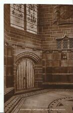 Lancashire Postcard - Liverpool Cathedral - The Chapter House - Real Photo A6220