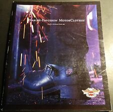 HARLEY-DAVIDSON MOTORCYCLE 1997 MOTOR CLOTHES ACCESSORIES BROCHURE 50 PG (651)