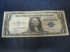 1935 A One 1 Dollar Bill United States US Silver Certificate