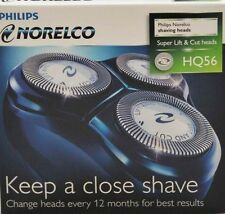 Norelco HQ55PLUS HQ56 Reflex Plus Replacement Razor Shaver Heads