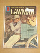 LAWMAN #8 FN+ (6.5) DELL COMICS JULY-SEPTEMBER 1961