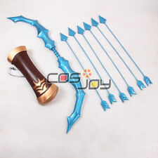 Cosjoy League of Legends Ashe Bow, Arrow and Arrow Holder EVA Cosplay Prop