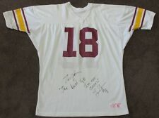 Vintage 1994 USC TROJANS Game Used & Autographed Leonard Green Football Jersey