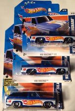 '83 Chevy Silverado Truck 3 Car Set Hot Wheels Team Variation