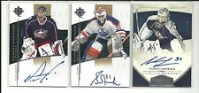 2010/11 PANINI DOMINION ANDERS LINDBACK ROOKIE RC AUTO AUTOGRAPH 194/199