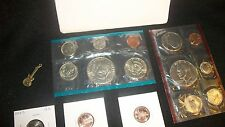 COINS LOT UNCIRCULATED EISENHOWER DOLLARS 1977 MINT SET+ PEACE No Reserve #63