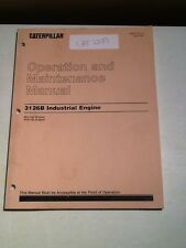 CAT 3126B Industrial Engine Operation And Maintenance Manual *OEM*