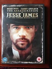 The Assassination of Jesse James  DVD with Brad Pitt & Casey Affleck