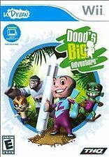 Dood's Big Adventure Nintendo Wii Video Game New in Package NIP Wii uDraw THQ