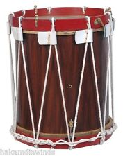 "Military Heritage Drum Civil War Drum 16"" inch Renaissance Rope Tension Snare"